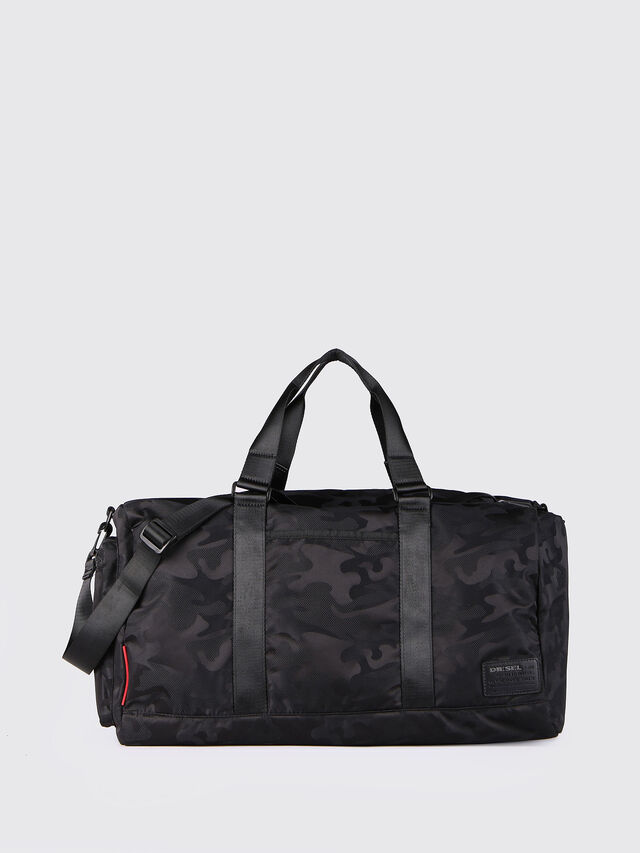 Diesel - F-DISCOVER DUFFLE, Black - Travel Bags - Image 1