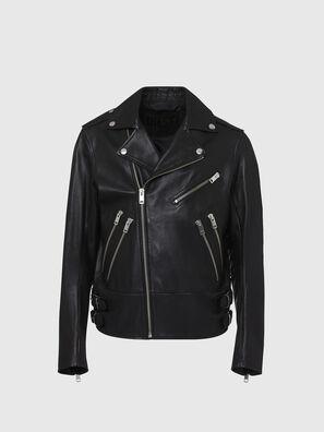 L-GARRETT, Black - Leather jackets