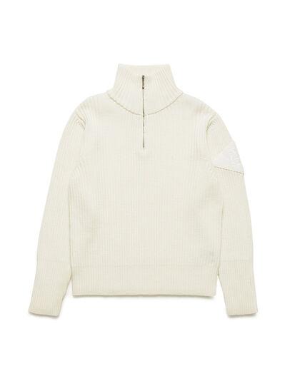 Diesel - GR02-N301, White - Knitwear - Image 1