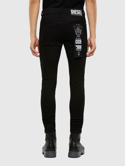 Diesel - D-Istort 069QT, Black/Dark grey - Jeans - Image 2