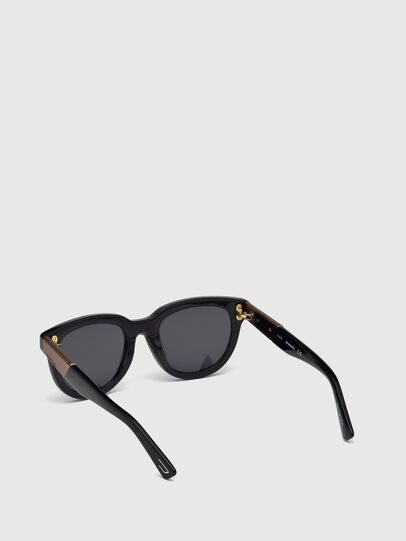 Diesel - DL0228, Black - Sunglasses - Image 4