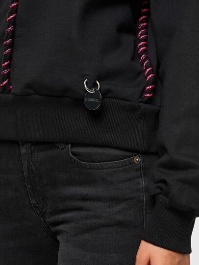 Diesel - F-TWISTER, Black - Sweaters - Image 4