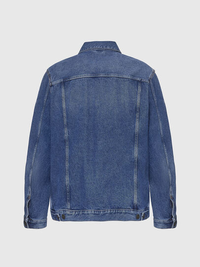 Diesel - D-SAL, Light Blue - Denim Jackets - Image 2