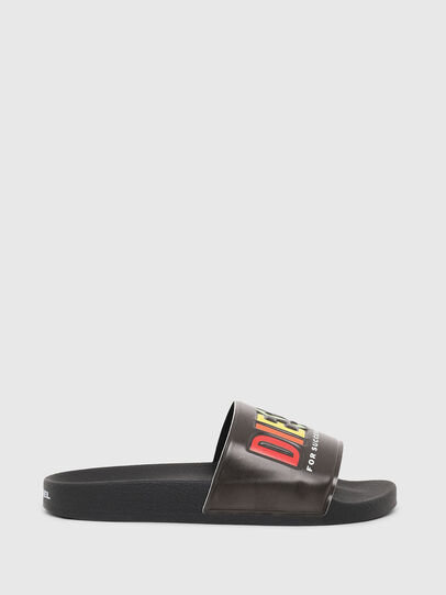 Diesel - SA-VALLA W, Black - Slippers - Image 1