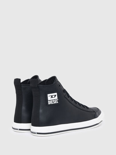 Diesel - S-ASTICO MID CUT W, Black - Sneakers - Image 3