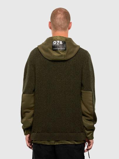 Diesel - K-THOMPSON, Olive Green - Jackets - Image 2