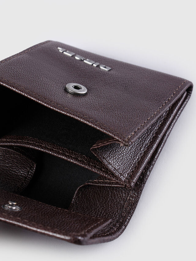 Diesel KOPPER, Dark Brown - Small Wallets - Image 4