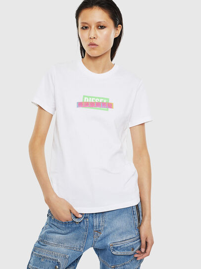 Diesel - T-SILY-S2, White - T-Shirts - Image 1