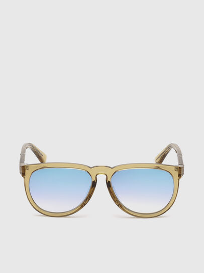 Diesel - DL0272, Light Brown - Kid Eyewear - Image 1