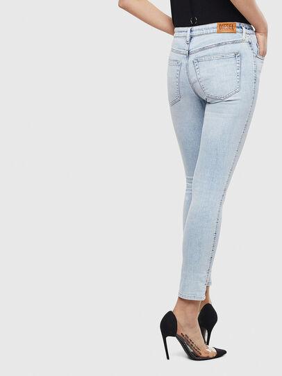 Diesel - Babhila 009AC, Light Blue - Jeans - Image 2