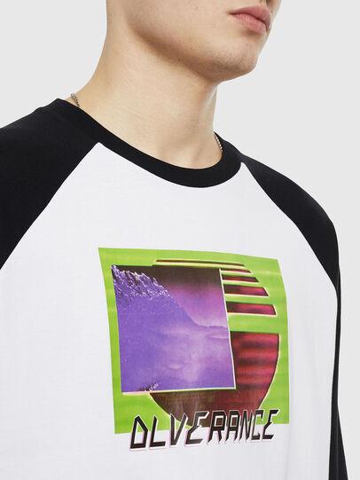 Diesel - T-RODDI, White/Black - T-Shirts - Image 3