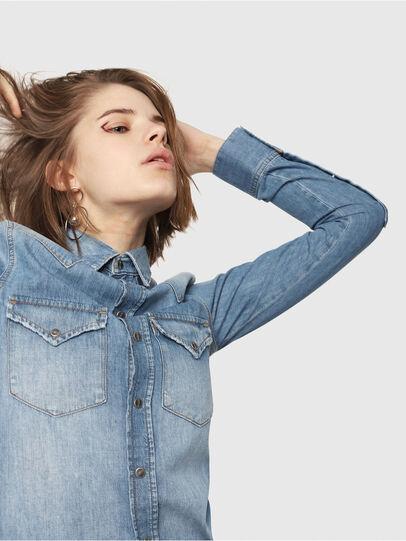 Diesel - DE-RINGY, Blue Jeans - Denim Shirts - Image 3
