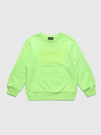 Diesel - SCOLIGCODE OVER, Green Fluo - Sweaters - Image 1