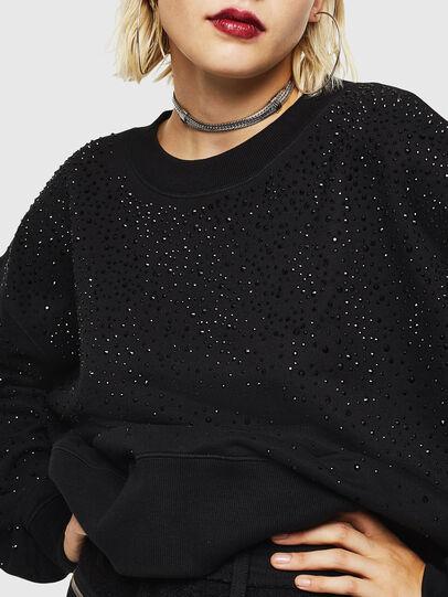 Diesel - F-MAGDA-D, Black - Sweaters - Image 3