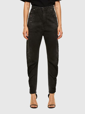 D-Plata JoggJeans 009DS, Black/Dark grey - Jeans