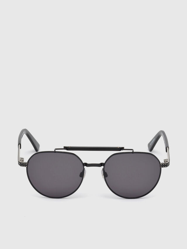 Diesel - DL0239, Black - Sunglasses - Image 1