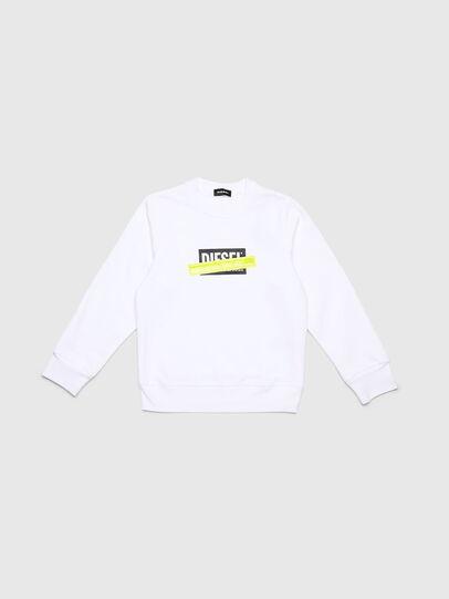 Diesel - SGIRDIE, White - Sweaters - Image 1