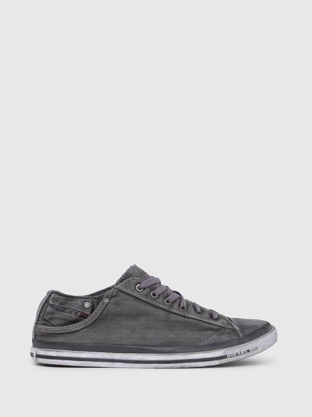 Diesel EXPOSURE LOW I, Metal Grey - Sneakers - Image 1