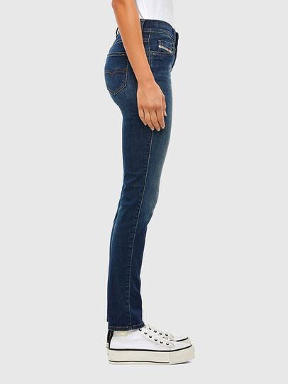 Diesel - Sandy 009HL, Dark Blue - Jeans - Image 3