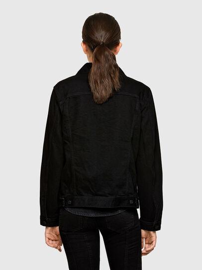 Diesel - NHILL-C1, Black - Denim Jackets - Image 4