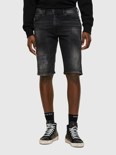Diesel - THOSHORT, Black/Dark grey - Shorts - Image 1