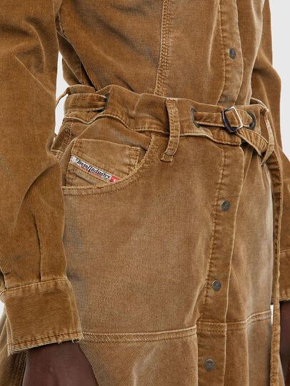 Diesel - D-SHAY-A, Light Brown - Dresses - Image 5