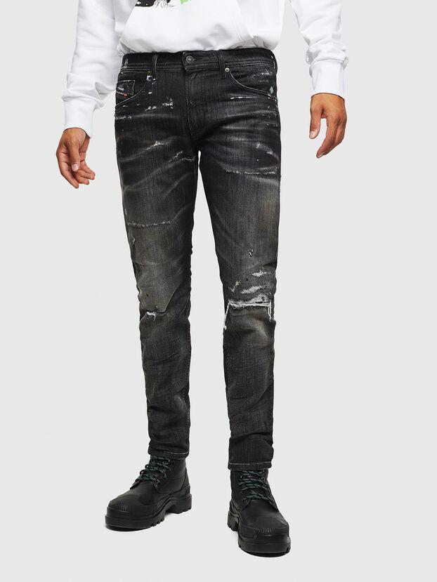 Thommer JoggJeans 0098E, Black/Dark grey - Jeans