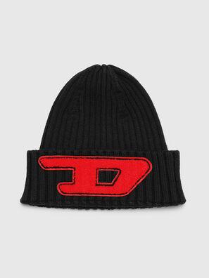 K-CODER-D, Black - Knit caps
