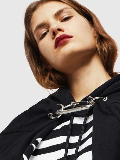 Diesel - F-ALBYHOOK-C, Black - Sweaters - Image 3
