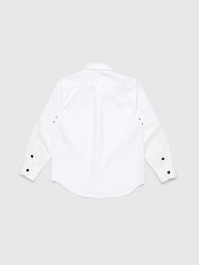 Diesel - CSKOSOV OVER, White - Shirts - Image 2