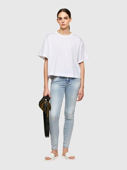 Diesel - Slandy High 009TG, Light Blue - Jeans - Image 5
