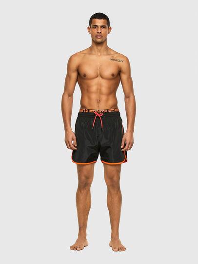 Diesel - BMBX-DOLPHIN-R, Black - Swim shorts - Image 1