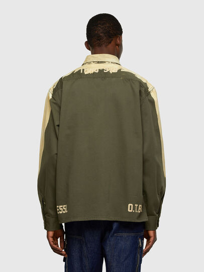 Diesel - S-BUNNELL, Olive Green - Shirts - Image 2