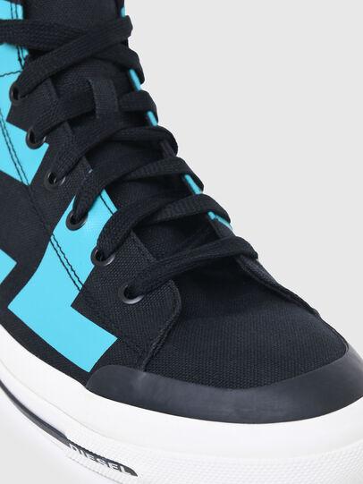 Diesel - S-ASTICO MID CUT, Black/Blue - Sneakers - Image 6