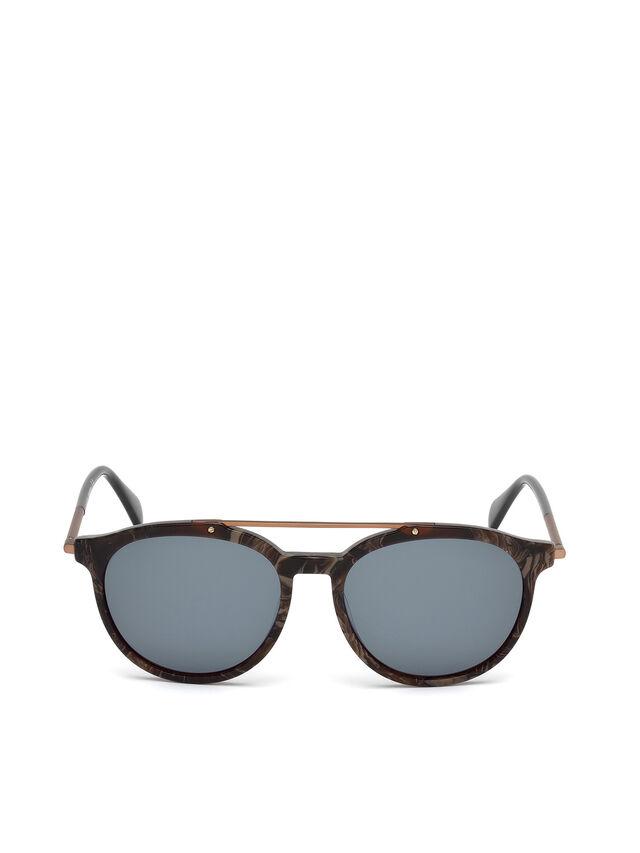 Diesel DM0188, Brown - Eyewear - Image 1