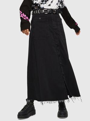 D-RHITA JOGGJEANS, Black/Dark grey - Skirts