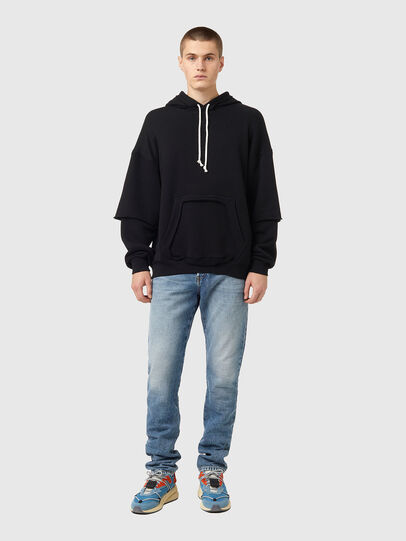 Diesel - S-OBER, Black - Sweaters - Image 4