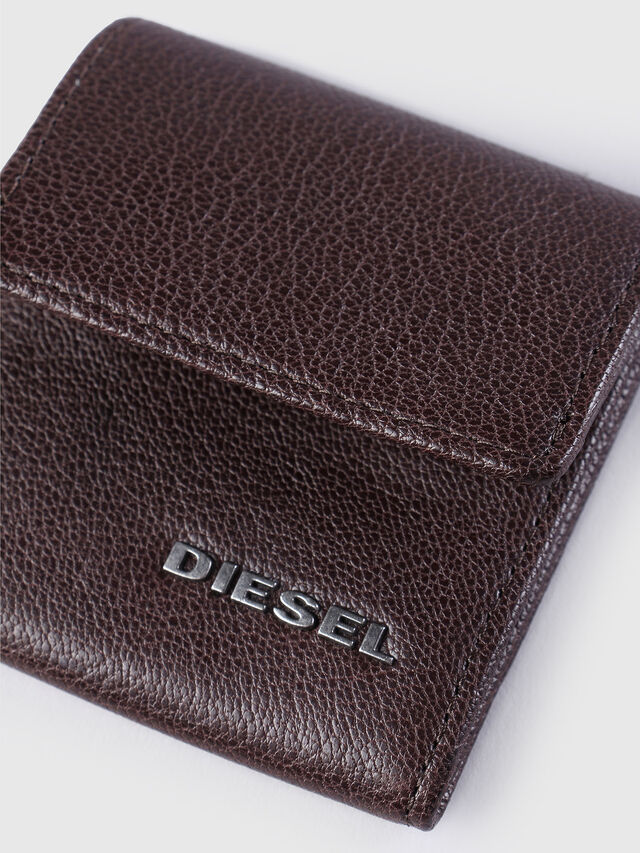 Diesel KOPPER, Dark Brown - Small Wallets - Image 3