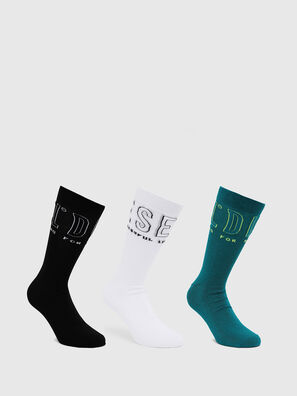 SKM-HERMINE-THREEPAC, Multicolor - Socks