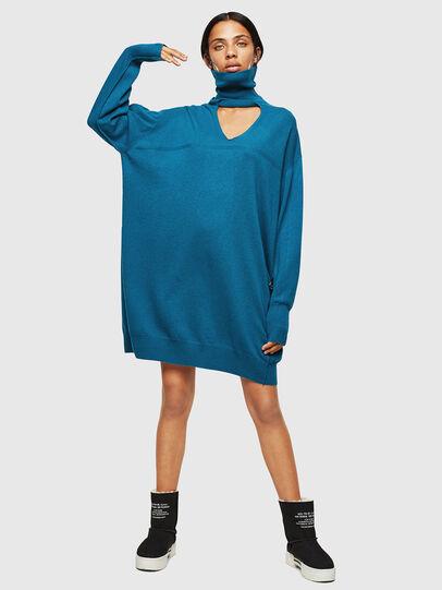 Diesel - M-LILIA, Blue Marine - Dresses - Image 1