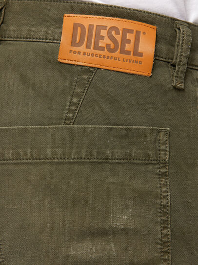 Diesel - D-Azzer JoggJeans® 069NF, Military Green - Jeans - Image 4