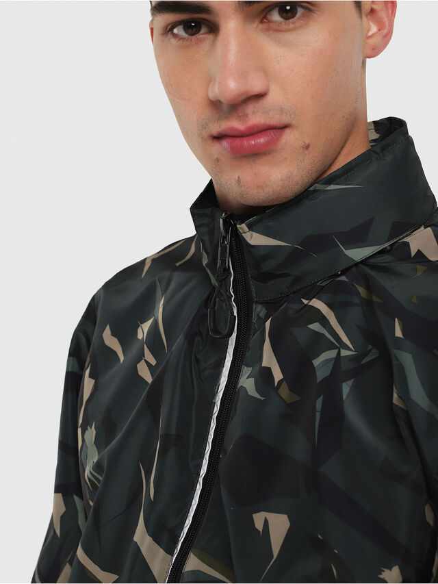 Diesel - BMOWT-WINDSEA-P, Green Camouflage - Out of water - Image 3