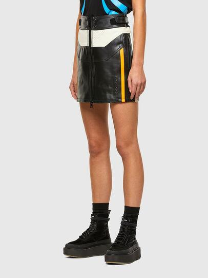 Diesel - ASTARS-SCINQUES-B, Black - Skirts - Image 7