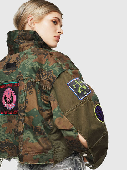 Diesel - G-ANAPAY, Military Green - Jackets - Image 3
