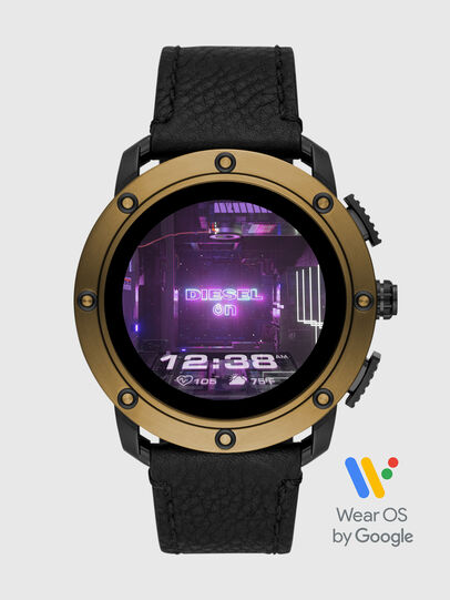 Diesel - DT2016, Black/Bronze - Smartwatches - Image 1