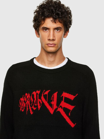 Diesel - K-WILSON, Black - Knitwear - Image 3