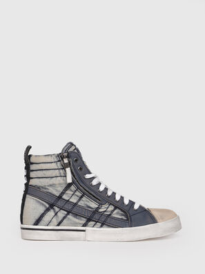 D-VELOWS MID LACE, Blue Jeans - Sneakers