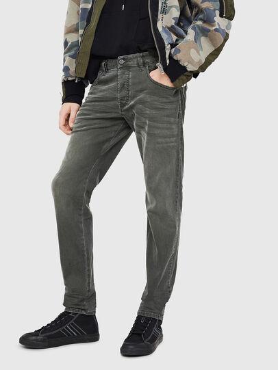 Diesel - D-Bazer 0699P, Dark Green - Jeans - Image 1