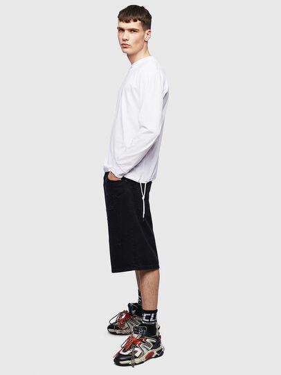 Diesel - T-HUSTY-LS, White - T-Shirts - Image 8