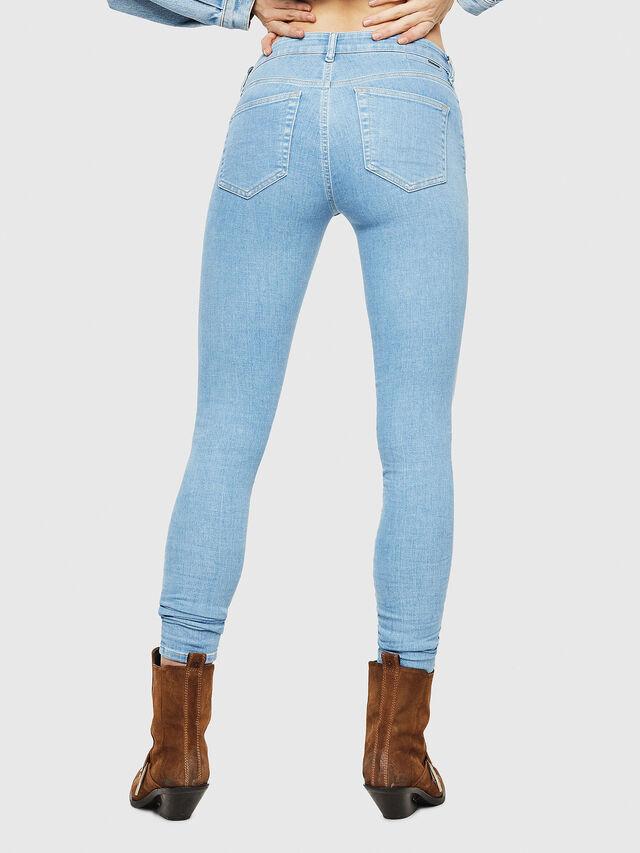 Diesel - Slandy 069FN, Light Blue - Jeans - Image 2